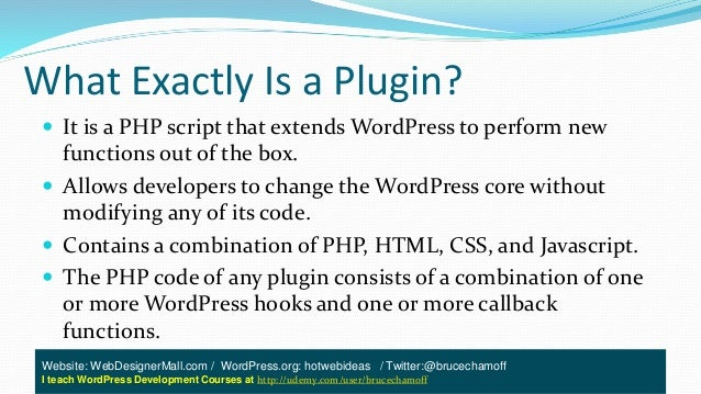 Introduction To Simple WordPress Plugin Development