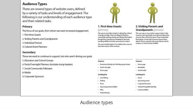 Audience types