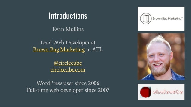 So, You Wanna Dev? Join the Team! - WordCamp Raleigh 2017  Slide 2