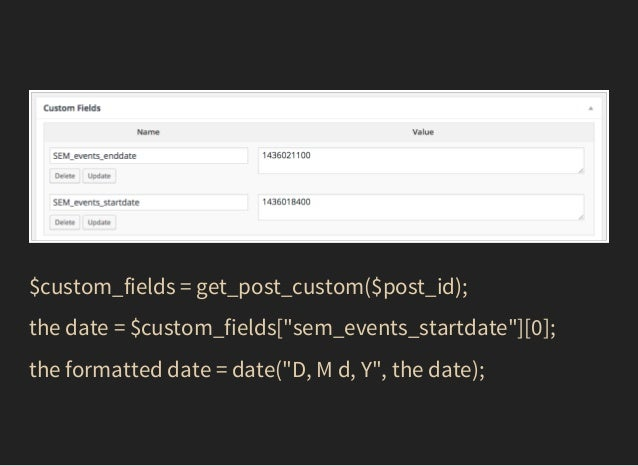 WordCamp Montreal 2015: Combining Custom Post Types, Fields, and Meta Boxes to do the Impossible with WordPress