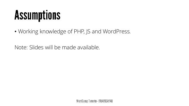 • The White Screen of Death • Plugin compatibility Errors • Theme Errors • Internal Server Errors • Trouble with PHP Host ...