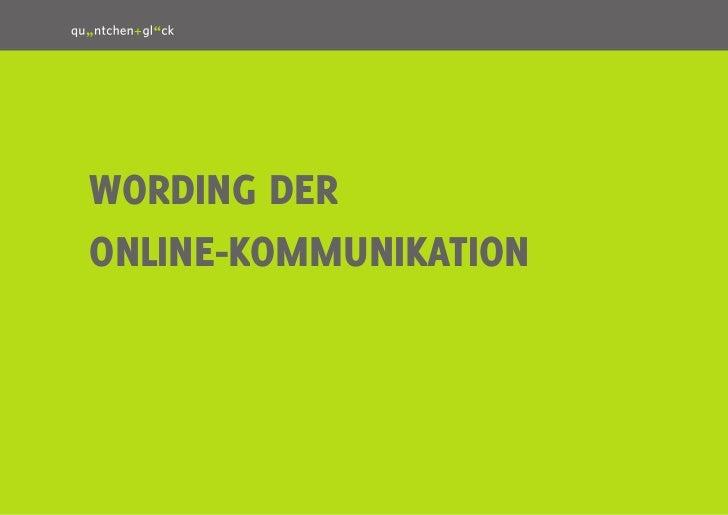 1Wording deronline-kommunikation