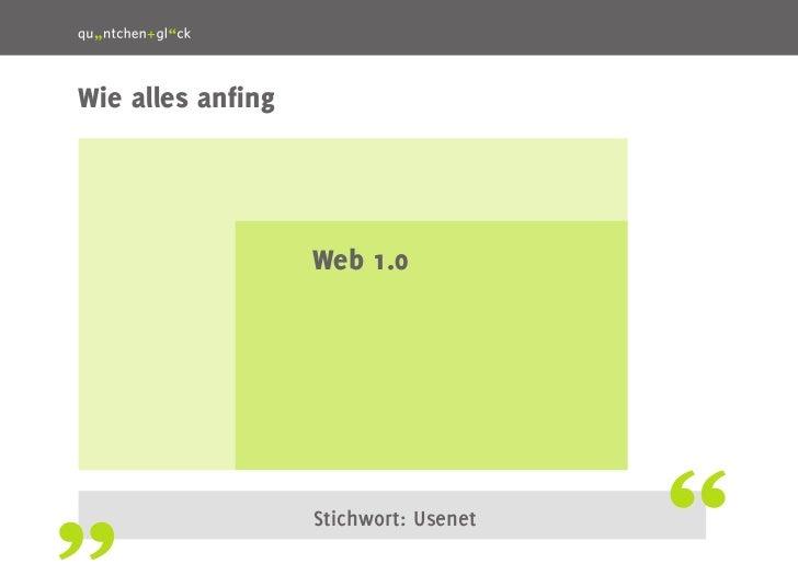 Web 2.0, Social Web, Social Media: Wording der Online-Kommunikation Slide 2