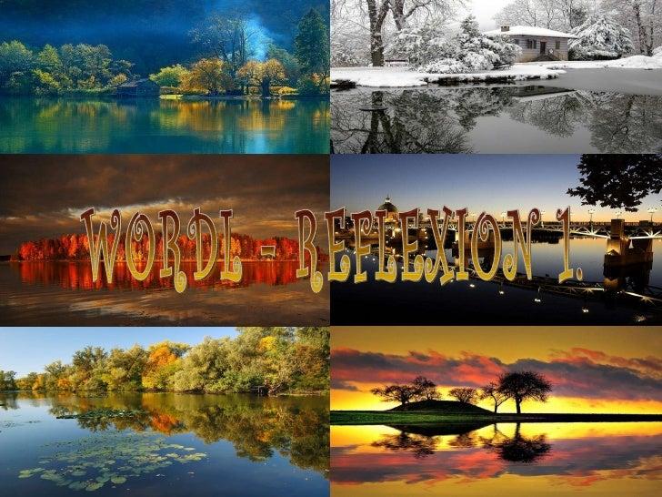 WORDL - REFLEXION 1.