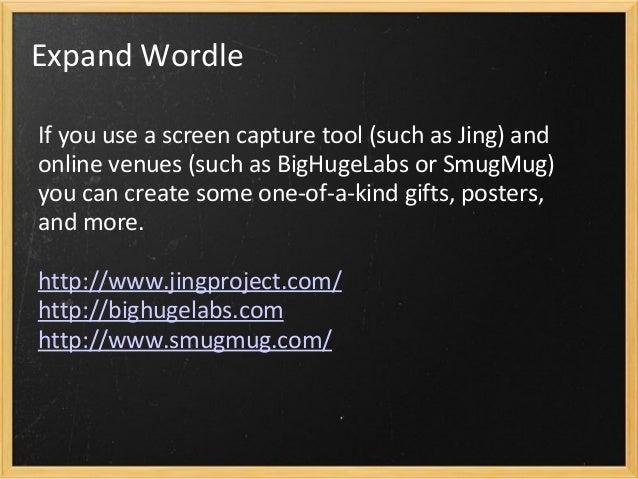 Wordle Ideas Slide 3