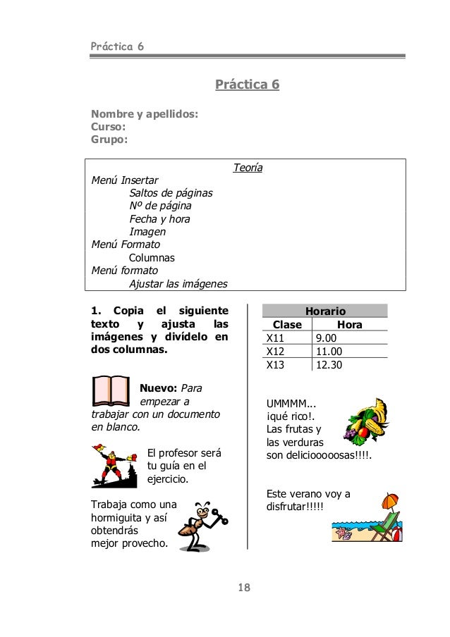 cuaderno de practica ms word 2013