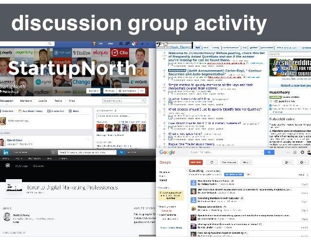 interactions between group members