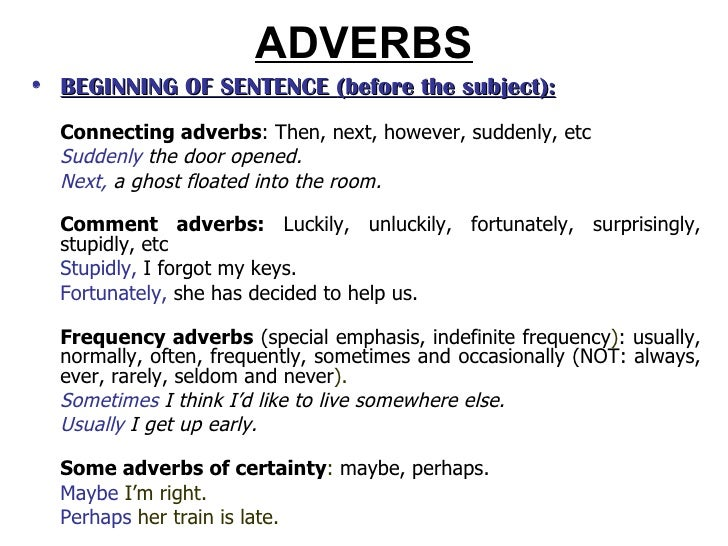 how to use however at the beginning of a sentence