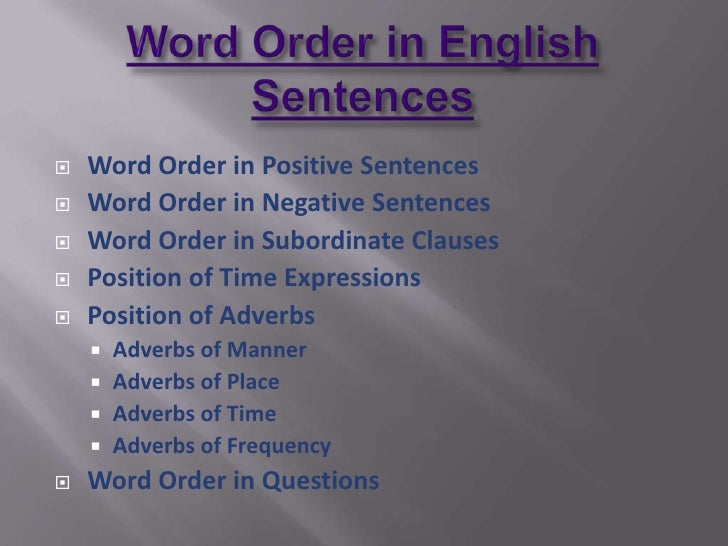 how to understand sentences in english