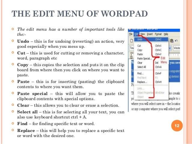 wordpad free download