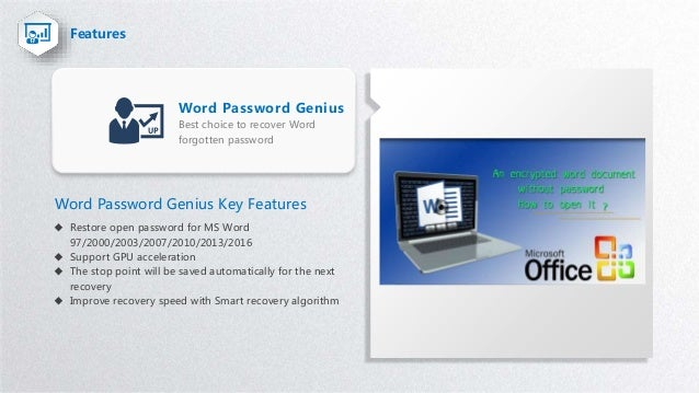 Word password recovery tool --recover forgotten MS word