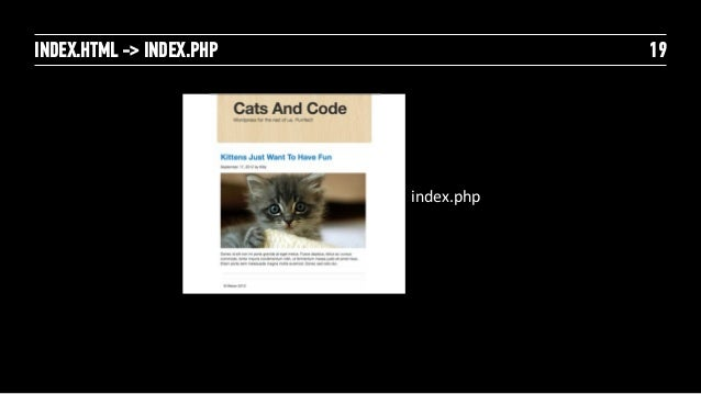 HOME PAGE                20            header.php            index.php            footer.php