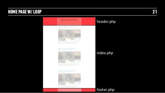 """SINGLE"" BLOG POST                22                     header.php                     single.php                     foo..."