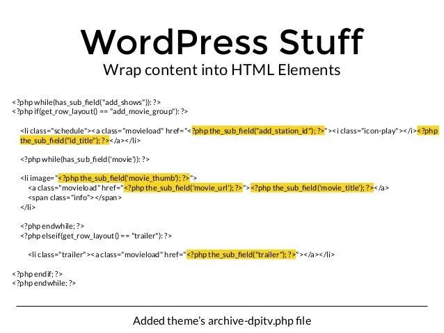 Wordpress Beyond Websites