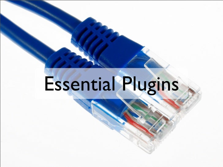 Essential Plugins