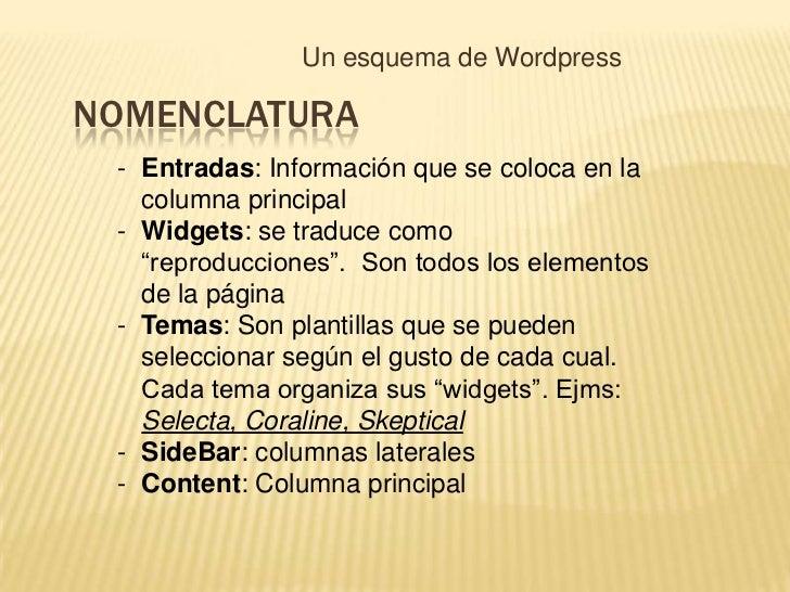 Wordpress esquema-2010