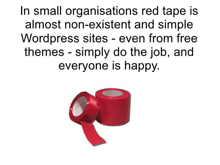 Wordpress for Small Nonprofits slideshare - 웹