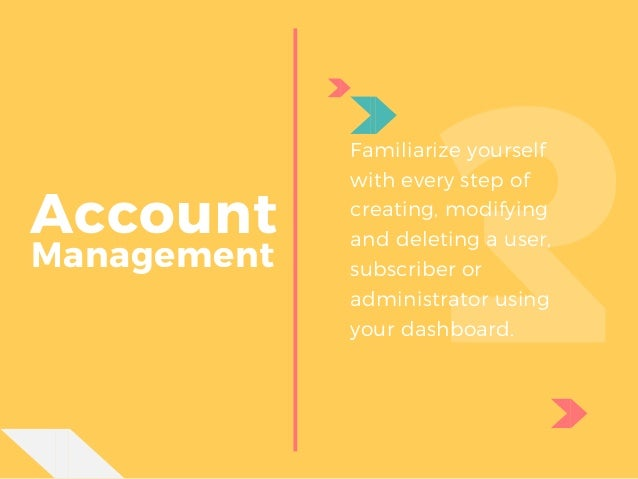 ... 25. Account Management ...