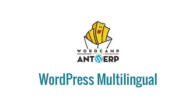 WordPress Multilingual