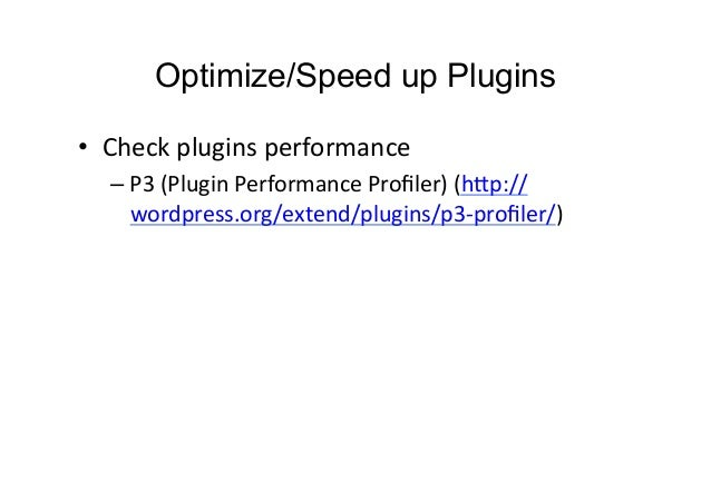 Vinay Paudel: Optimizing and Speeding up a WordPress site slideshare - 웹
