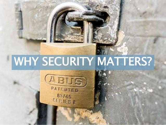 @irishwonder IrishWonder's SEO Consulting WHY SECURITY MATTERS?