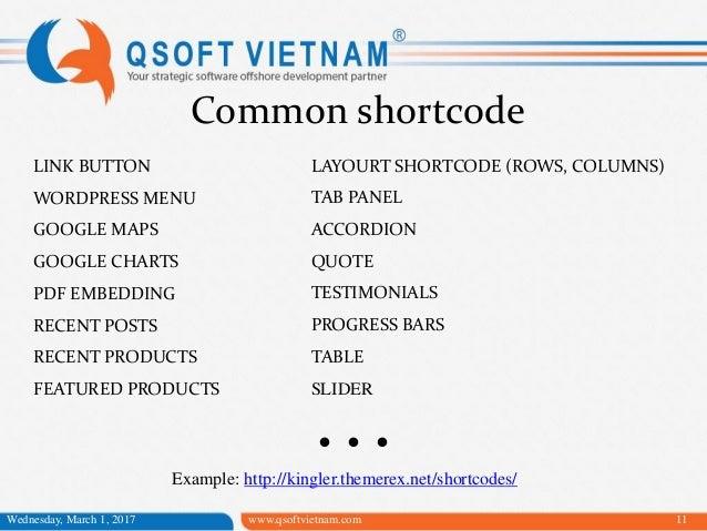 Tìm hiểu Wordpress shortcode