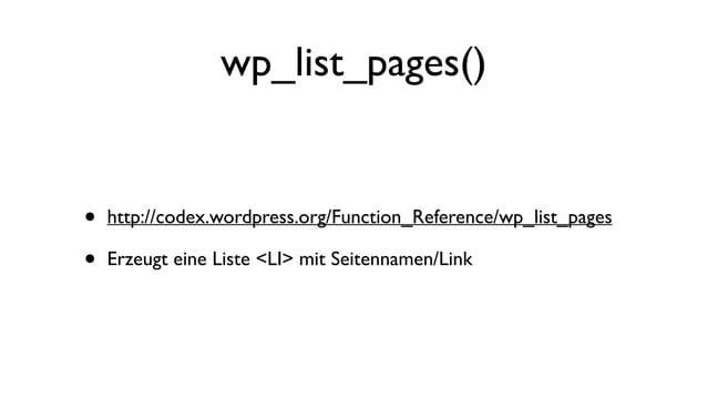 $wpdb • http://codex.wordpress.org/Class_Reference/wpdb • SQL von Hand