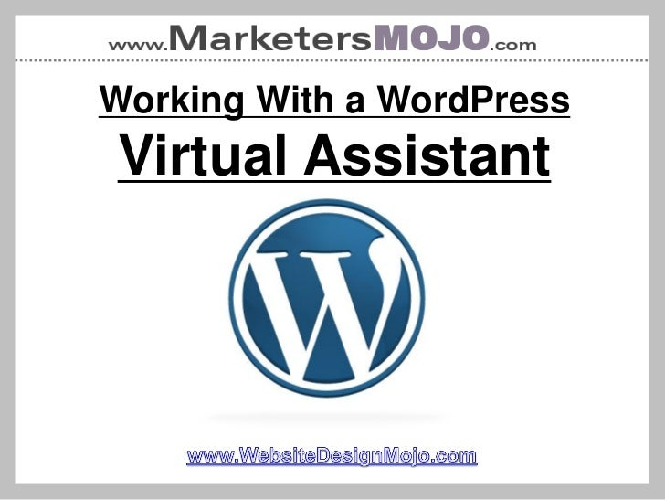 Working With a WordPressVirtual Assistant