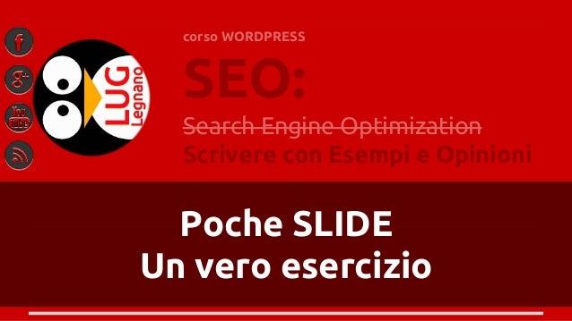 Wordpress 4. come scrivere SEO slideshare - 웹