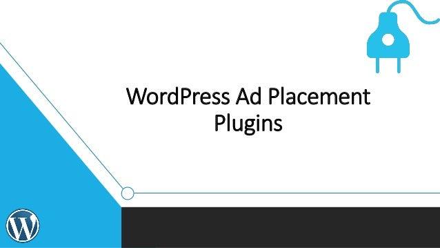 WordPress Ad Placement Plugins
