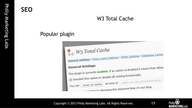 WordPress and Seo - Components and Integration slideshare - 웹