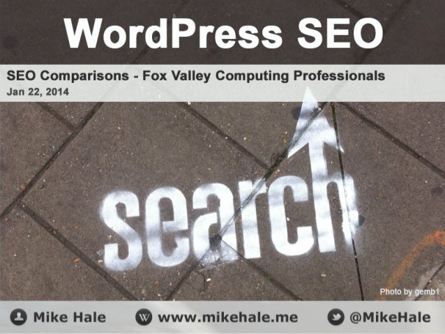Who Am I? Mike Hale WordPress & .Net Developer President  Commencia  Founder  @TwibitzApp  My Blog  MikeHale.me  Twitter  ...