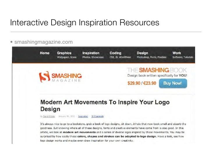 Interactive Design Inspiration Resources  • smashingmagazine.com