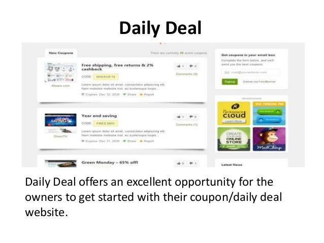 Wordpress coupon themes