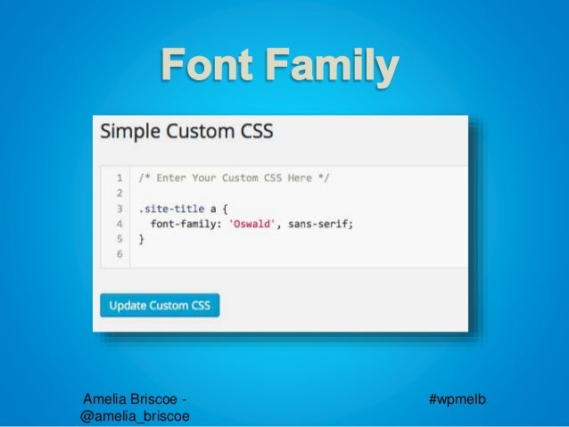 WordPress User MeetUp CSS Basics Guide