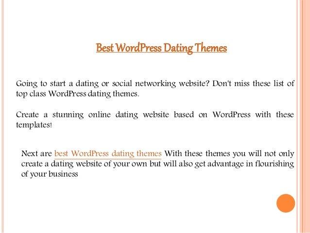 dating temaer WordPress