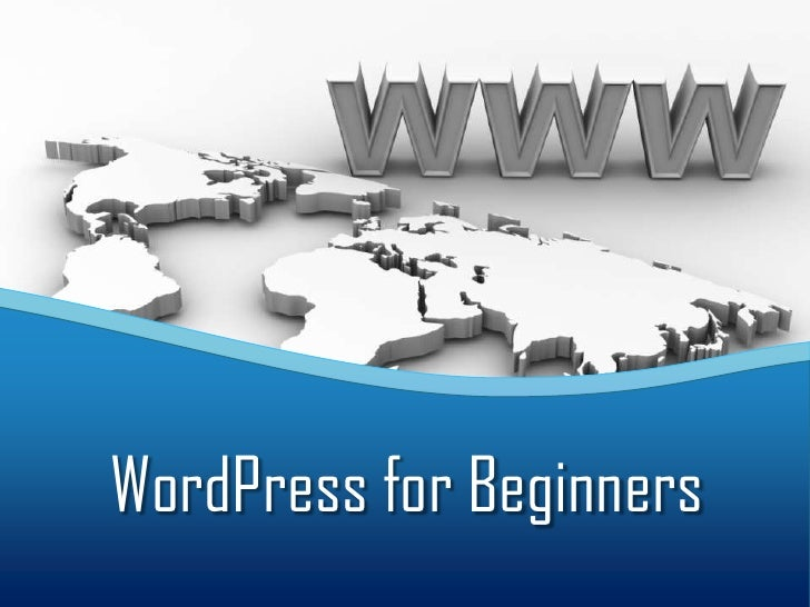 WordPress for Beginners<br />