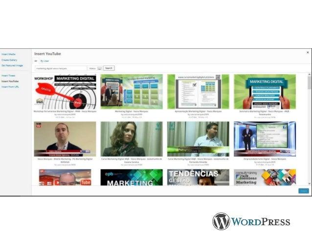 Widgets • Feed RSS • Instagram • Facebook Like Box • Text, links • Box.net • Most popular posts • Statistics • Images,….