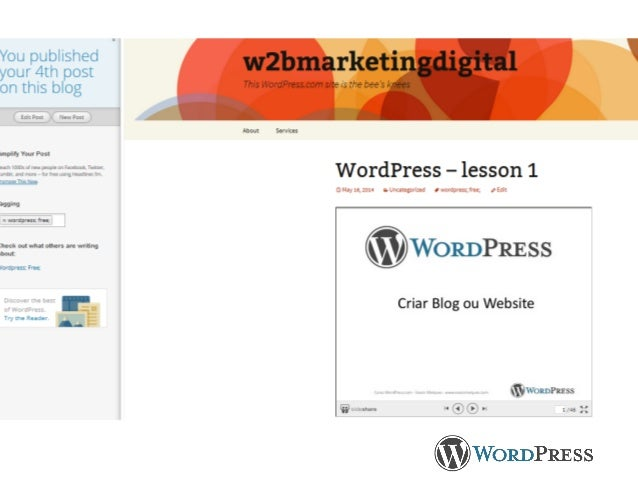 Curso WordPress.com - Vasco Marques - www.vascomarques.com