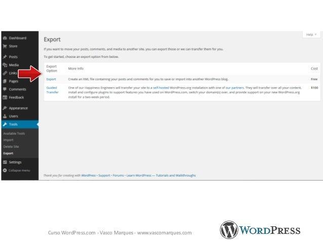WordPress.com - Vasco Marques - www.vascomarques.com http://thingswemake.wordpress.com/