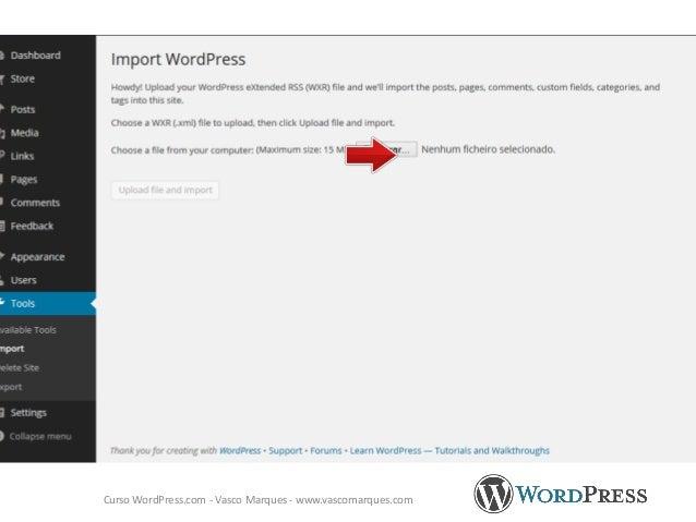WordPress.com - Vasco Marques - www.vascomarques.comhttp://cursomarketingdigital.pt/