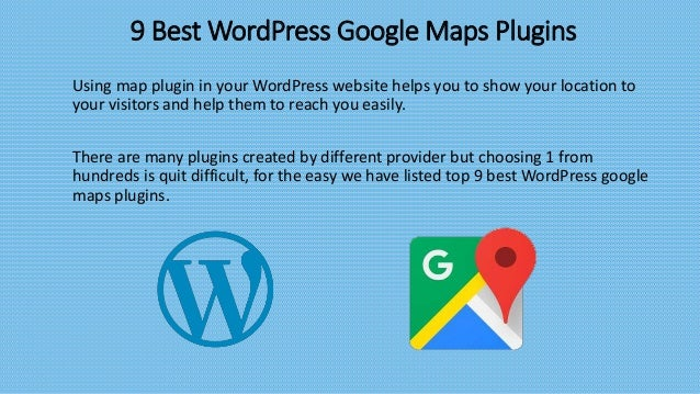 List of Best WordPress Google Maps Plugins
