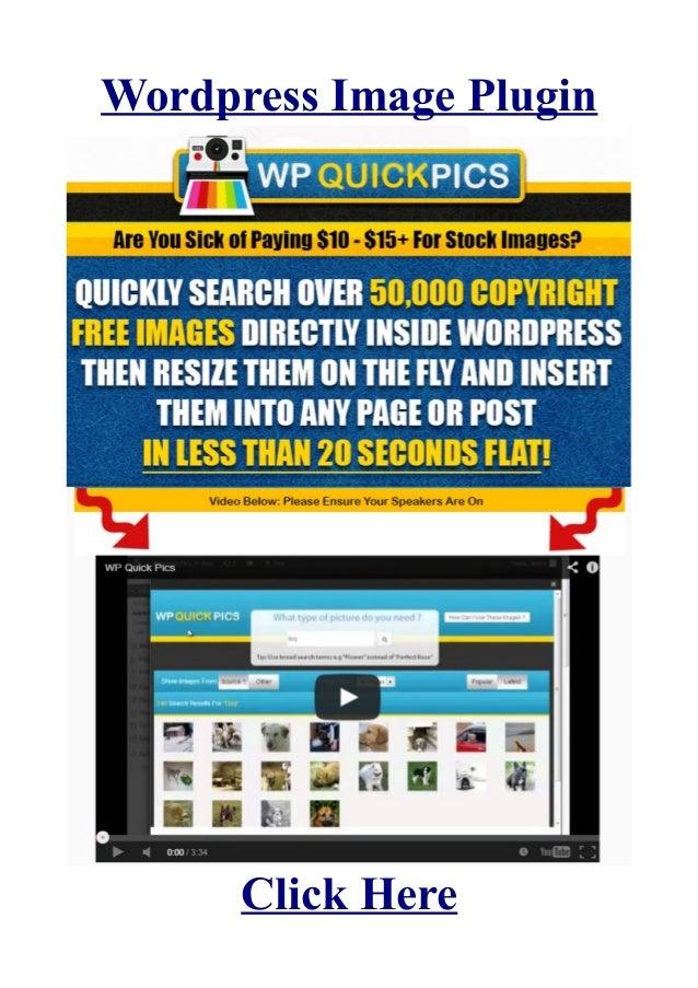 Wordpress Image PluginClick Here