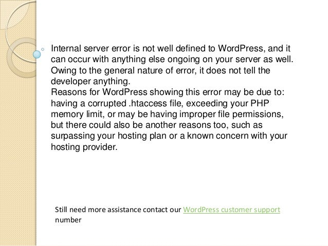 Internal server error is not well defined to WordPress, and it can occur with anything else ongoing on your server as well...