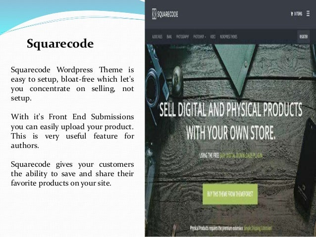 Word Press Marketplace Themes