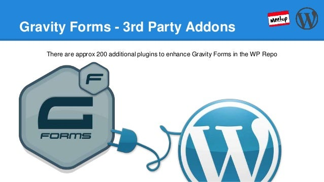 Colorado Springs WordPress Meetup - Gravity Forms