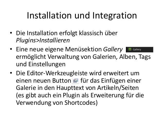 WordPress mit NextGEN Gallery Slide 3