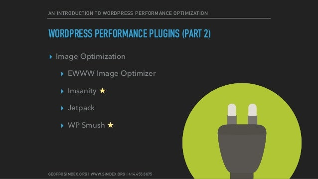 Speeding Up Your Site: An Introduction to WordPress ...