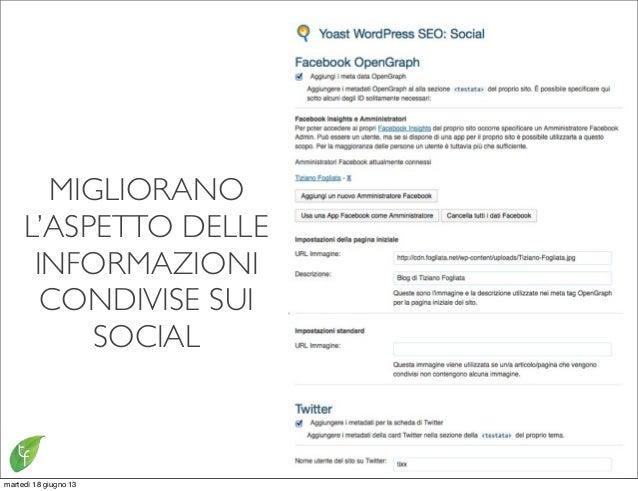 MIGLIORANOL'ASPETTO DELLEINFORMAZIONICONDIVISE SUISOCIALmartedì 18 giugno 13