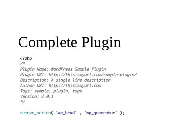 Complete Plugin